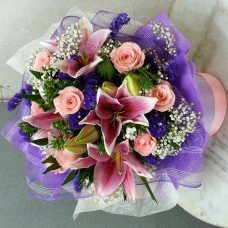 Lilies & roses HB