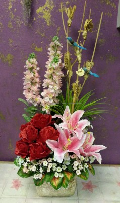 Artificial Flower Arrangement Flowers Delivery Singapore